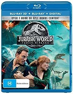 Jurassic World - Fallen Kingdom (Blu-ray 3D + Blu-ray + Digital)