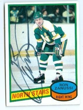 ron-zanussi-autographed-hockey-card-minnesota-north-stars-1980-topps-192-hockey-slabbed-autographed-