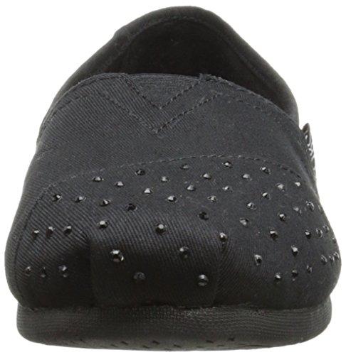 Skechers Moda Resbalã³n Sacudidas black De Luxe Black Flat en wqUCISxEtC
