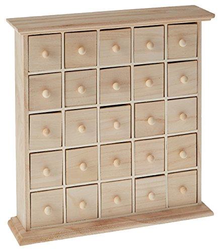 Artemio 14001073 Wooden Chest 25 Drawers