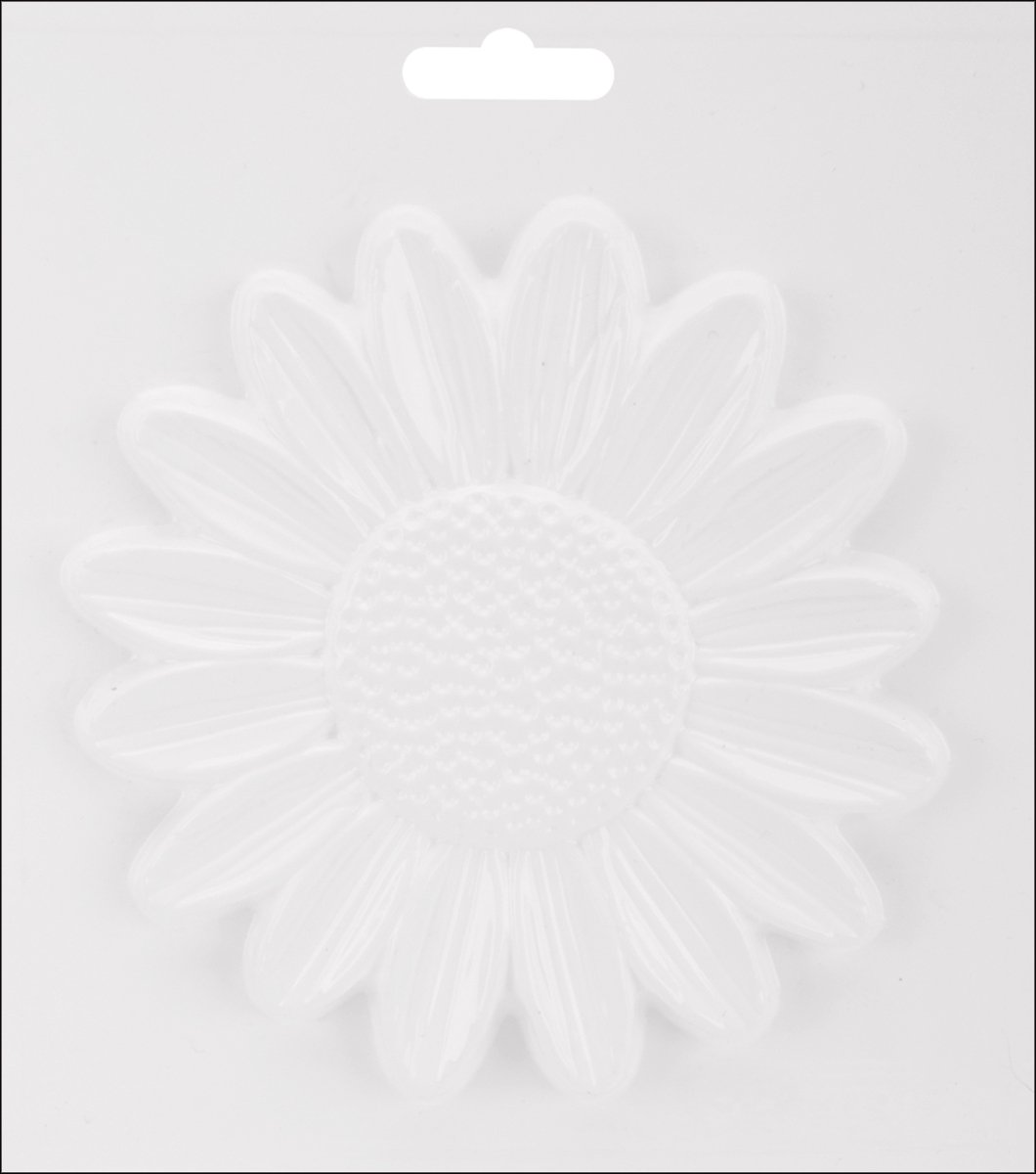 Yaley Plaster Casting Plastic Mold 6.5'X7.25'-Sunflower Notions - In Network Feb-79
