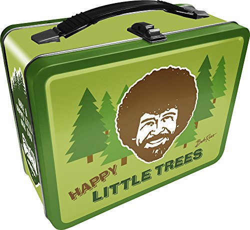 Aquarius Bob Ross Happy Tree Large Gen 2 Tin Storage Fun -