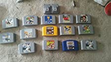 n64 system w/controller, hookups, and super mario 64