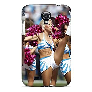 YbFpY9078mvdvq ArtCover Carolina Panthers Cheerleaders Durable Galaxy S4 Tpu Flexible Soft Case