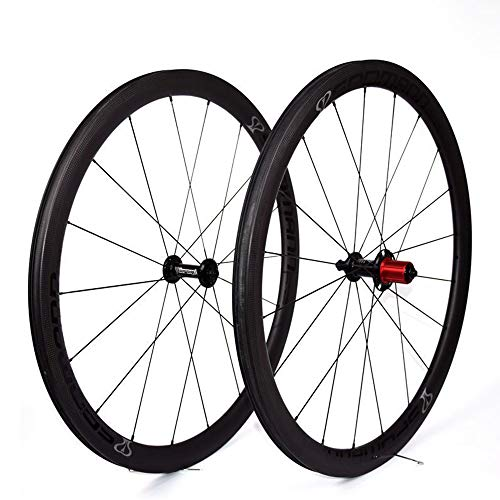 ZXCCZ 700C Bike Wheels Carbon Wheelset in Road Bicycle Wheel Clincher for Shimano Or Sram 8/9/10/11 Speed