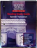 Modern World History - Patterns of Interaction, MCDOUGAL LITTEL, 0395942071