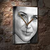 CLAIRE FORLANI - Canvas Clock (A5 - Signed by the Artist) #js001