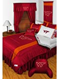 NCAA Virginia Tech HOKIES - 5pc BEDDING SET - Full/Double Size