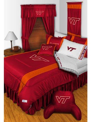 NCAA Virginia Tech HOKIES - 5pc BEDDING SET - Full/Double Size by NCAA