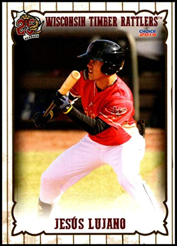 2019 Choice Wisconsin Timber Rattlers #14 Jesus Lujano NM-MT Wisconsin Timber Rattlers Officially Licensed MiLB Baseball Trading Card ()