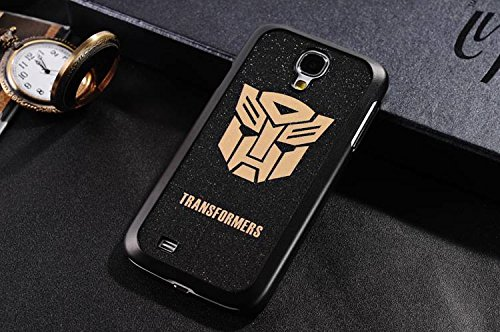 E-Life New Fashion Hard PC Shining Glitter Super Hero Matte Skin Case Cover Back Fitted for Samsung Galaxy S4 i9500 Transformers