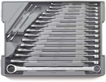 Kd Tools 85987 5 Piece Gearbox Metric Add On Double Box Ratcheting Wrench Set