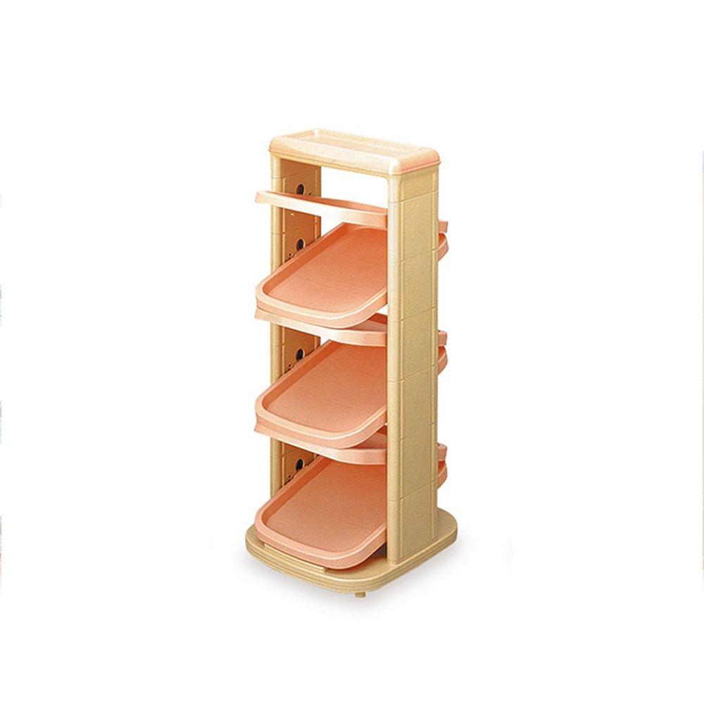 EIDUOシューズラック 折りたたみ靴の棚プラスチック多機能の居間寝室の出入り口防塵スペースシェルフ32.5 * 37 * 79センチメートル 自宅に適しています (色 : ピンク ぴんく, サイズ さいず : 32.5*37*79cm) B07DK5TX7M ピンク ぴんく 32.5*37*79cm