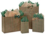 125 Hunter Gingham Bag Assortment 25 Rose, 50 Cub, 25 Vogue, 25 Queen (Unit Pack - 125)