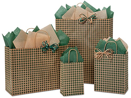 125 Hunter Gingham Bag Assortment 25 Rose, 50 Cub, 25 Vogue, 25 Queen (Unit Pack - 125) by Better crafts