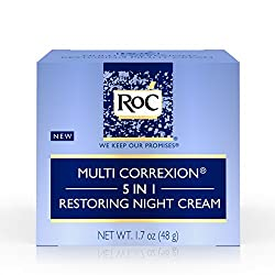 Roc Multi Correxion 5 In 1 Restoring Facial Night Cream, 1.7 Oz.