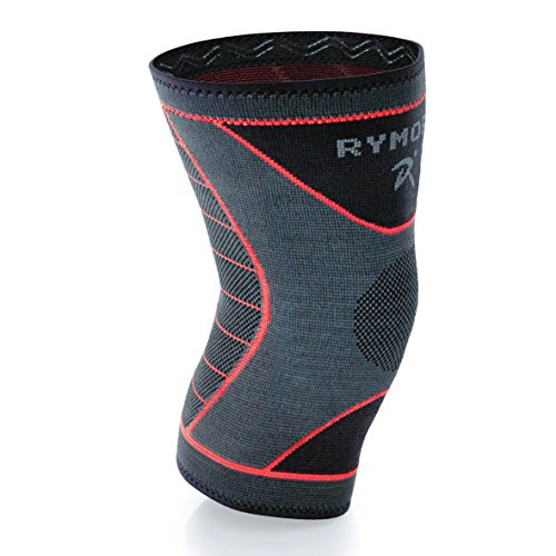 Rymora Knee Brace Support Compression Sleeve (Large) (Single (Scholls Sports Wrap)