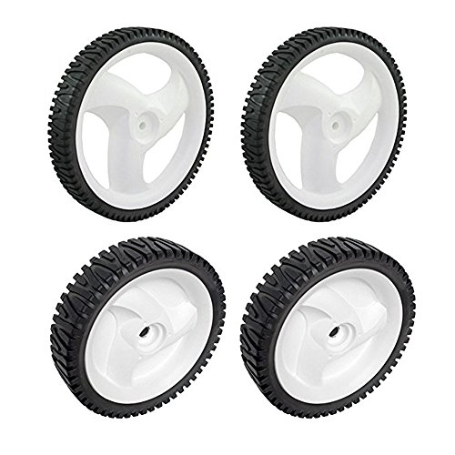 Craftsman 431880X427 Rear Lawn Mower Wheel and Craftsman 532403111 Lawn Mower Drive Wheel Bundle
