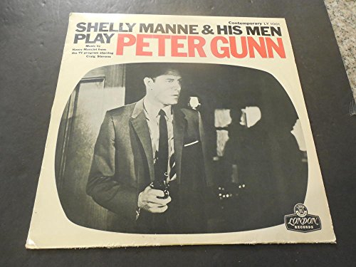 Shelly Manne His Men Play Peter Gunn Japan Press LY 1001 Vinyl VG+