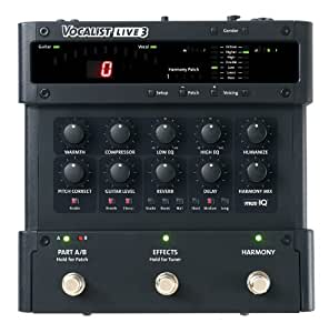 Digitech Vocalist Live 3 Harmony and Pitch Correction Pedal for Guitarists