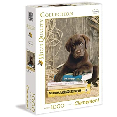 Clementoni 39230 Puzzle Hqc Laying On The Books 1000 Pezzi