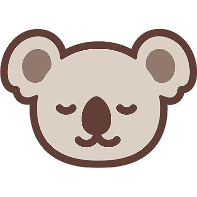 "Cute Adorable Kawaii Australia Koala Head Cartoon Vinyl Sticker (2"" Wide, Happy): Automotive"