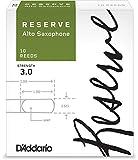D\'Addario Reserve Alto Saxophone Reeds, Strength 3.0, 10-pack