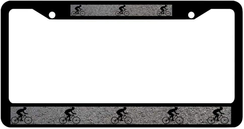 Car License Plate Frames for US Canada Vehicles,12/×6 in-ch Headwind GR Black Love License Plate Frames