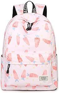 قماش حقيبة مدرسية على ظهره للبنات