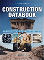 Construction Databook: Construction Materials and Equipment (P/L Custom Scoring Survey)
