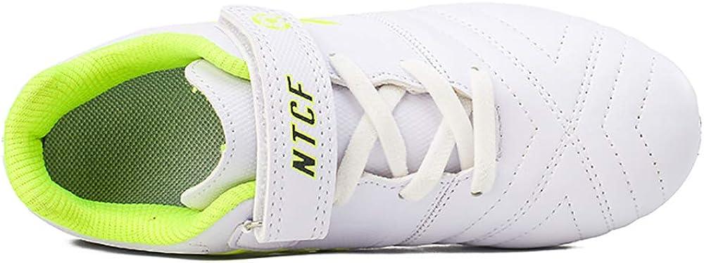 Zapatillas de F/útbol Ni/ño Botas de F/útbol Ni/ña FG//AG Libre Atletismo Zapatos de Entrenamiento Unisex 28-39