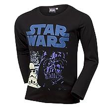 Boys Kids Disney Star Wars Boys Printed Cotton T-Shirt Age 5-12 years