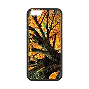 iPhone 6 4.7 Inch Cell Phone Case Black Maple Tree Branch R2B6N