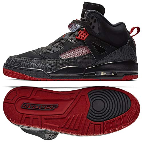 - Nike Mens Air Jordan Spizike Basketball Shoes Black/Gym Red-Anthracite 315371-006 Size 11.5