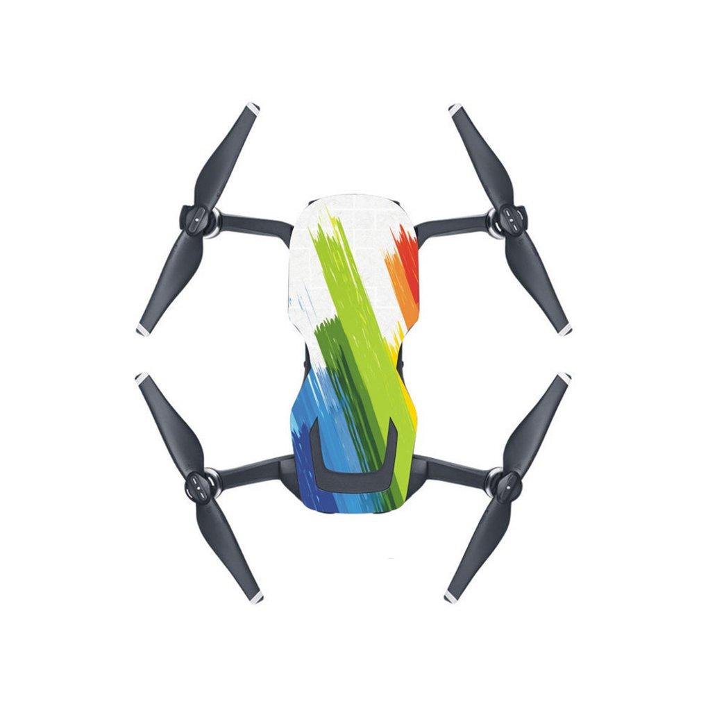 Individuale impermeabile in PVC a prova di polvere colorata duraturo rimovibile Drone UVA Adesivi per Mavic Air LUFA AMZfish69968