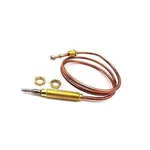 SMETA Gas Thermocouple Kit 900 mm for Gas Fridge Replacement