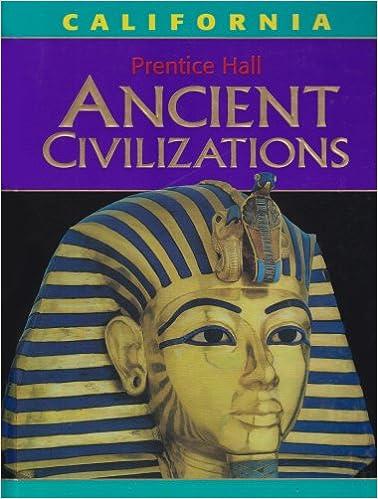 Ancient Civilizations California Middle Grades Social