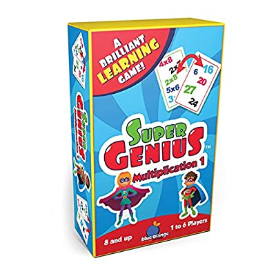 Blue Orange Super Genius - Multiplication 1: Toys & Games