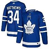 adidas Toronto Maple Leafs Men's #34 Auston Matthews Blue Player Jersey (Size 50)