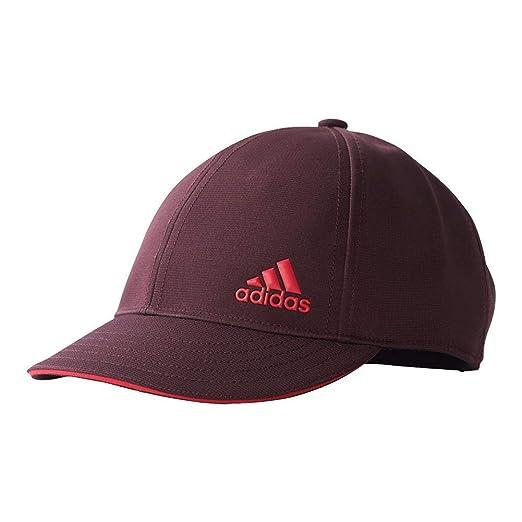 32b45f7591 Amazon.com  Adidas Women`s Climalite Tennis Cap Dark Burgundy and ...