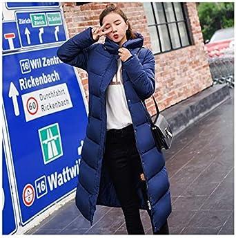 Wild Love Jackets Manteau d'hiver pour Femme Long Slim épais