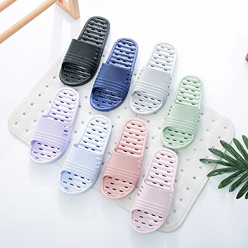 40bb6d21b6e7 Shower Sandal Slippers with Drainage Holes Quick Drying Bathroom Slippers  Gym Slippers Soft Sole Open Toe