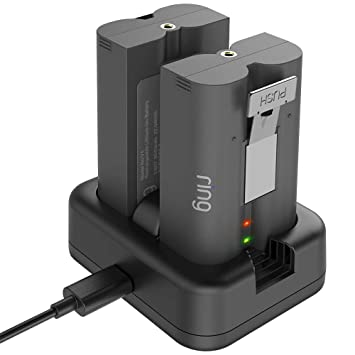 Amazon.com: Aobelieve - Cargador de batería para timbre de ...