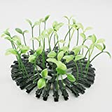 Cuhair(tm) Love Manga 1000pcs Bean Sprout Flower Grass Plant Fruit Design Hair Clip Pin Barrettes claw Accessories (green)