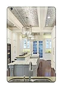 CaseyKBrown Ipad Mini/mini 2 Hybrid Tpu Case Cover Silicon Bumper Gourmet Kitchen With Range And Baking Station