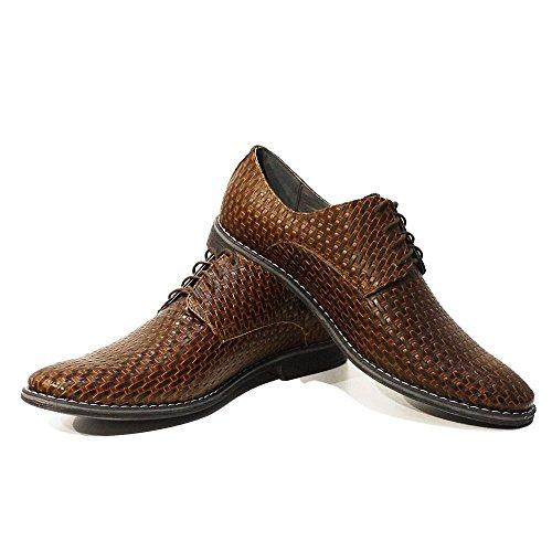 Modello Michele - main en cuir italien Colorful Chaussures uniques Hommes
