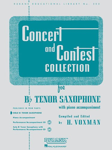 Concert And Contest Collection For Bb Tenor Saxophone: Solo Book