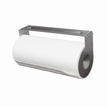 Küchenrollenhalter Ohne Bohren gefu papierrollenhalter 15710 rollenhalter küchenrollenhalter