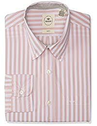 Dockers Long Sleeve Alpha Laudered Shirt Camisa casual para Hombre, Misty Rose, Chico