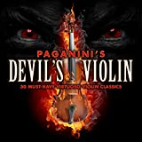 Paganini's Devil's Violin - 30 Must-Have Virtuoso Violin Classics Album Cover